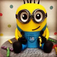 Minion!!!! by DeVoliCakes