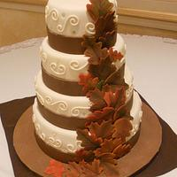 Fall Themed Wedding
