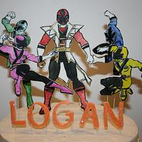 Power Rangers Cake by Leila