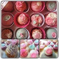 Vintage Inspired Cupcakes by TheCookingMonster's Kitchen