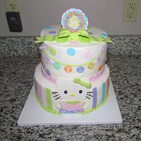 Hello Kitty Cake by Jaybugs_Sweet_Shop