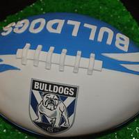 NRL Canterbury Bulldogs Cake