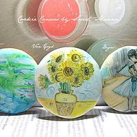 Cookie Imitates Art Series (Monet,Van Gogh,Degas)