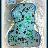 His 1st Birthday Cake