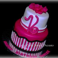 Hot Pink Sweet 16