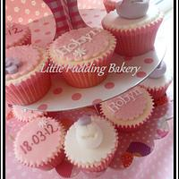 Christening cupcakes by Natalie Watson