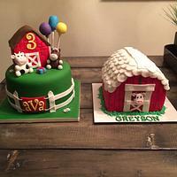 Farm themed birthday
