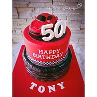 Ferrari Italia Topper Cake