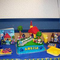 Blue's Clue's cake