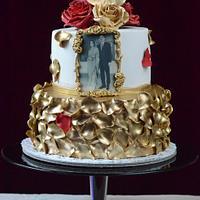 The 50th Golden Anniversary cake!