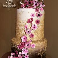 Asian Floral Cake
