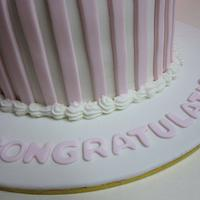 Alicia's Baby Shower Cake by Lydia Evans