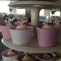 Laura's Cupcake Tower by Cakebuddies