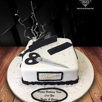 Hairstylist Cake