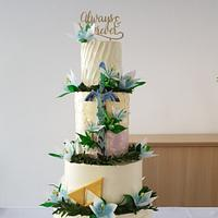 Silent Princess Wedding Cake