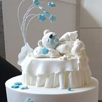 Little polar bear cake topper