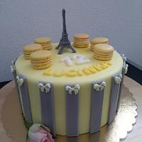 """Cake..""""Paris"""""""