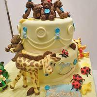 Baby Naming cake (non religious christening cake)