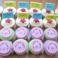 cupcakes for teachers by Bakedincakedout