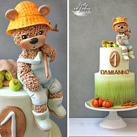 Teddy bear Farmer