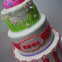 Emma's ladybug cake