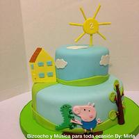 George Pig, Cake