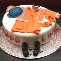 PPE (Construction Worker's Uniform) Cake