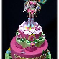 WINX FLORA CAKE