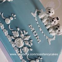 Wedgwood style cake