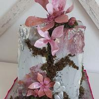 Bday stone cake