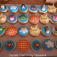 Toy Story theme cupcakes