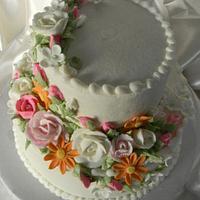 Mixed Flowers by Donna Tokazowski- Cake Hatteras, Hatteras N.C.