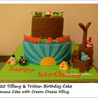 My second Angry Bird Cake