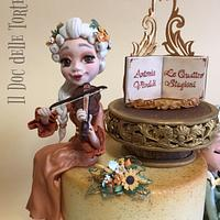 Vivaldi - The Four Seasons cake by Davide Minetti