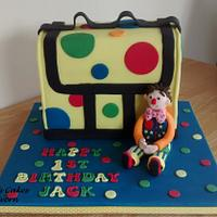 Mr Tumble & his spotty bag x