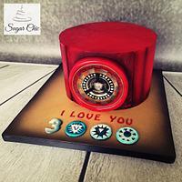 x I love You 3000 Cake x