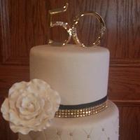 50th Anniversary Cake  by Tomyka
