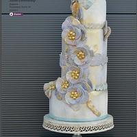 Cake by Elie Saab dress