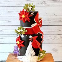 Red Cardinal CHRISTMAS Cake