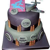 WW11 Birthday Cake by Melanie
