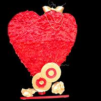 Caker Buddies Valentine Collaboration - The Big Heart