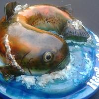 Trout cake