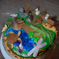 Australian Wildlife Cake by BloominScrumptious