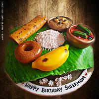 South Indian Thali Cake