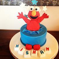 Elmo says Surprise!