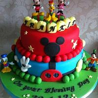 Mickey Mouse Clubhouse Blessing