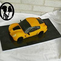 3D Corvette Cake