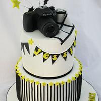 A Cake for a fashion photographer.