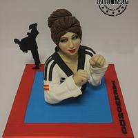 """TAEKWONDO """"SPORT CAKES FOR PEACE"""""""