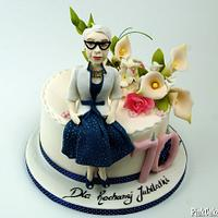 70th Birthday Cake for Woman